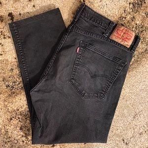 Black Levi's 502 Men's Jeans size 38W 32L